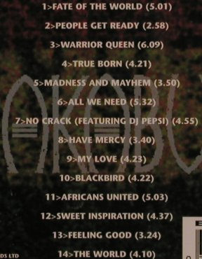 Akabu: Warrior Queen, ON-U(71), UK, 95 - CD - 67966 - 7,50 Euro