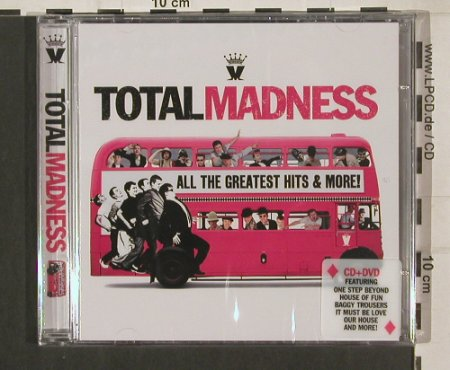 Madness: Total Madness, FS-New, UnionSq.(USMTVCD001), EU, 2009 - CD/DVD - 80157 - 10,00 Euro