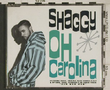 Shaggy: Oh Carolina*3/Bow Wow Wow, Virgin(91902 0), NL, 1993 - CD5inch - 81067 - 4,00 Euro
