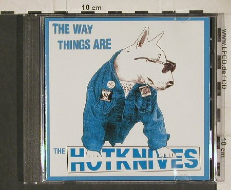 Hotknifes: The Way Things Are, Grover(GRD-CD 005), , 1995 - CD - 81138 - 7,50 Euro