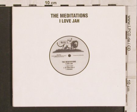 Meditations: I Love Jah, Digi, Wackies(56606-2), D,  - CD - 82157 - 10,00 Euro