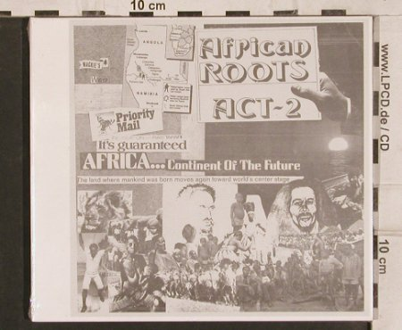 African Roots: Act.2 , Digi,Africa..continues..., Wackies(617), I, FS-New,  - CD - 82158 - 10,00 Euro