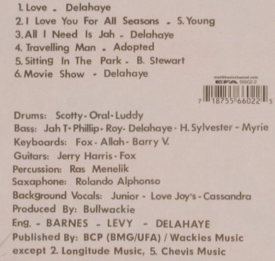 Junior Delahaye: Showcase(Reggae), Digi, FS-New, Wackies(56602-2), D,  - CD - 82159 - 15,00 Euro