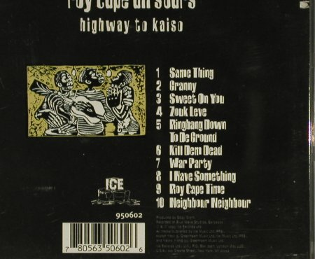 Roy Cape All Stars: Highway To Kaiso(Trinidad/Tobago), Ice(950 602), US, co, 1995 - CD - 84074 - 12,50 Euro