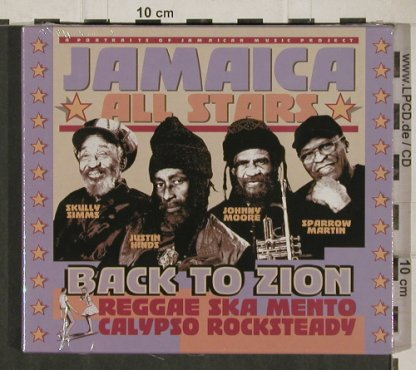 Jamaica All Stars: Back to Zion, FS-New, Passage(29003.2), F, 2003 - CD - 90514 - 9,00 Euro