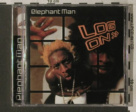 Elephant Man: Log On, FS-New, GreenSleeves(), UK, 2001 - CD - 92070 - 10,00 Euro