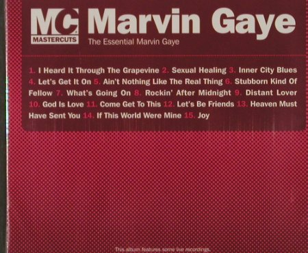 Gaye,Marvin: The Essentials, FS-New, Mastercuts(), UK, 2005 - CD - 92169 - 10,00 Euro