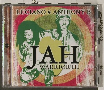 Luciano / Anthony B: Jah Warrior 3, FS-New, Penitentia(), , 2005 - CD - 92178 - 10,00 Euro