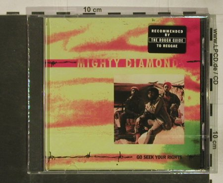 Mighty Diamonds: Go Seek Your Rights, FS-New, Virgin(CAROL 1678-2), A, 1990 - CD - 92556 - 10,00 Euro
