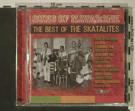 Skatalites: Guns Of Navarone-Best Of, FS-New, Trojan(078), UK, 2003 - CD - 92559 - 10,00 Euro