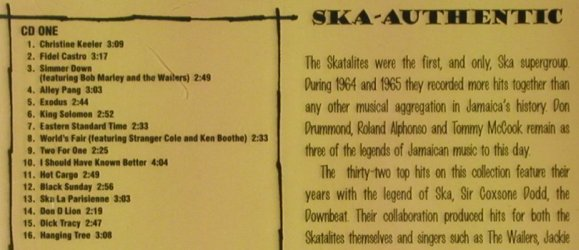 Skatalites: Foundation Ska, Heartbeat(CD HB 185/186), US, 1997 - 2CD - 92822 - 10,00 Euro