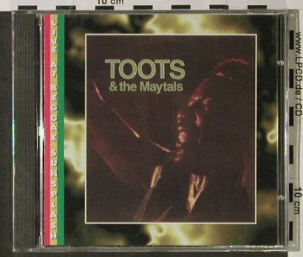 Toots & The Maytals: Live At Reggae Sunsplash,83,FS-New, Night & Day(NDCD 003), D, 1994 - CD - 92826 - 9,00 Euro