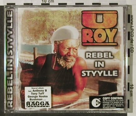 U-Roy: Rebel in Style, FS-New, Mediacom(), F, 2003 - CD - 92868 - 10,00 Euro