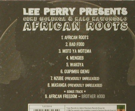 V.A.African Roots: Perry,Lee pres., FS-New, Trojan(TJCCD316), UK, 2006 - CD - 93517 - 7,50 Euro