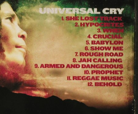 Fontaine,Nasio: Universal Cry, Digi, FS-New, Greensleeves(GRELCD 2008), EU, 2006 - CD - 93594 - 7,50 Euro