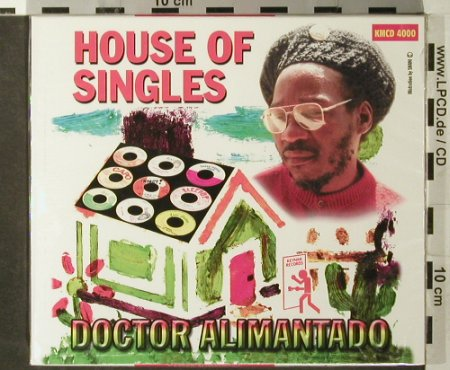 Droctor Alimantado: House of Singles, FS-New, D.Aliman Tado(KMCD 4000), , 2006 - CD - 93596 - 12,50 Euro