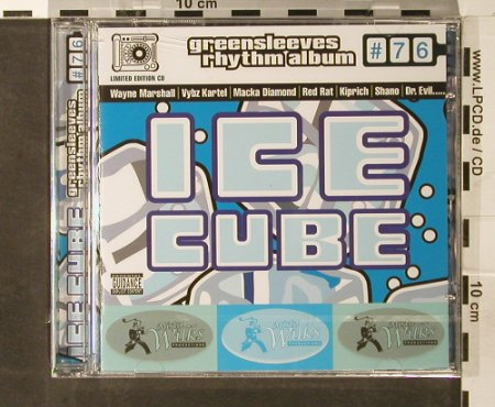 V.A.Greensleeves Rhythm Album: #76, Ice Cube,FS-New, Greensleeves Rec(GRELcd776), UK, 2005 - CD - 93746 - 10,00 Euro