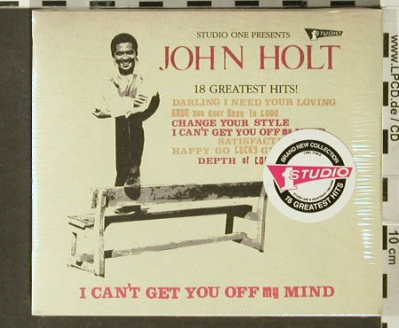 Holt,John: I Can't Get You Out Off Mind, Trojan(), UK, 2006 - CD - 94017 - 10,00 Euro