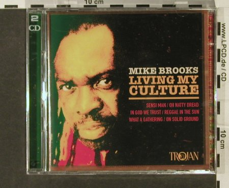 Brooks,Mike: Living My Culture, FS-New, Trojan(), EU, 2005 - 2CD - 94171 - 10,00 Euro