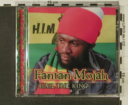 Mojah,Fantan: Hail the King, FS-New, Greensleeves Rec.(), UK, 2005 - CD - 94209 - 10,00 Euro