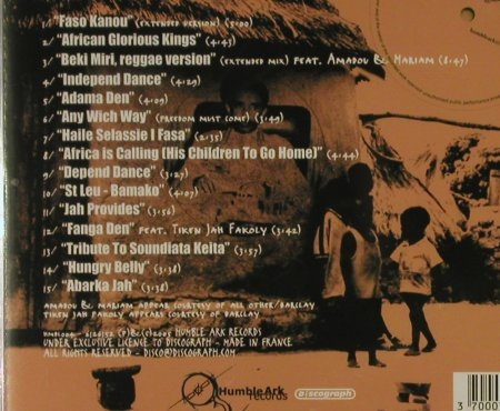 Manjul: Faso Kanou, Dub To Mali, FS-New, Humble Ark(), F, 2005 - CD - 94213 - 10,00 Euro