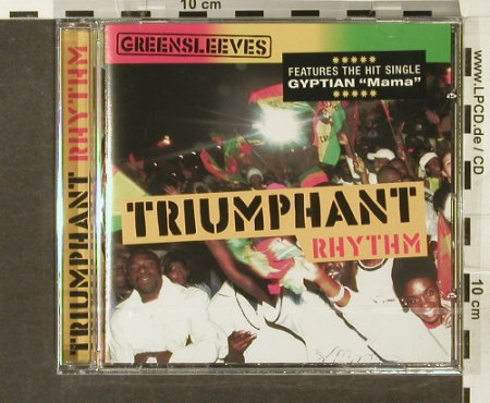 V.A.Triumphant Rhythm: Gyptian...Kemar McGregor, FS-New, Greensleeves Rec.(), UK, 2006 - CD - 94252 - 10,00 Euro