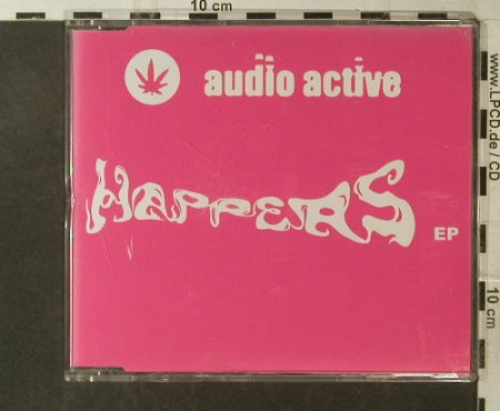 Audio Active: Happers EP, 4Tr., WEA(), D,  - CD5inch - 95792 - 4,00 Euro