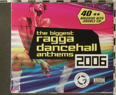 V.A.The Biggest Ragga Dancehall: Anthems 2006, FS-New, Greensleeves Rec.(GREZcd4010), UK, 2006 - 2CD - 96324 - 11,50 Euro