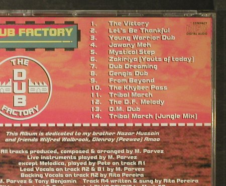 Dub Factory: Voyage Into Dub, Roots Rec.(), UK, 1995 - CD - 96356 - 10,00 Euro