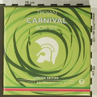 V.A.Trojan Carnival: 50 Tracks,Box,Lim.Ed., Trojan(TJETD132), UK, 2003 - 3CD - 96399 - 12,50 Euro
