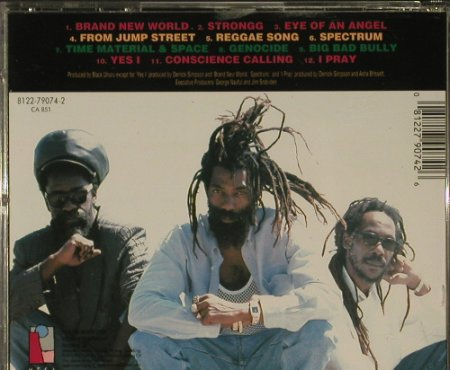 Black Uhuru: Strongg, MESA(), D, 1994 - CD - 96864 - 10,00 Euro