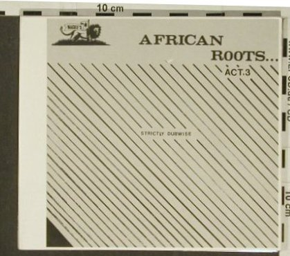 African Roots: Act.3 , Digi, Strictly Dubwise, Wackies(1717), ,  - CD - 97218 - 10,00 Euro