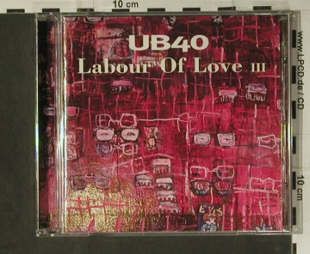 UB 40: Labour Of Love III, Virgin(), EU, 1998 - CD - 98588 - 10,00 Euro