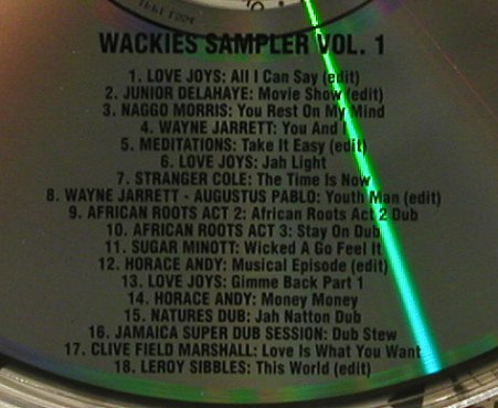 V.A.Wackies Sampler Vol.1: 18 Tr., Digi, Wackies(S-01), ,  - CD - 98598 - 10,00 Euro