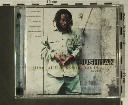 Bushman: Live At The Opera House, FS-New, Nocturne(OTCD 921), F, 2002 - CD - 98656 - 10,00 Euro
