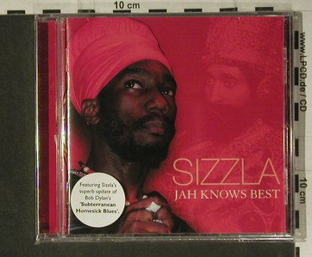 Sizzla: Jah Knows Best, FS-New, Sanctuary(RZDCD007), EU, 2004 - CD - 98693 - 10,00 Euro