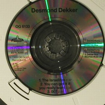 Dekker,Desmond & Aces: The Israelites +2, Old Gold(OG 6133), , 1989 - CD3inch - 98772 - 3,00 Euro