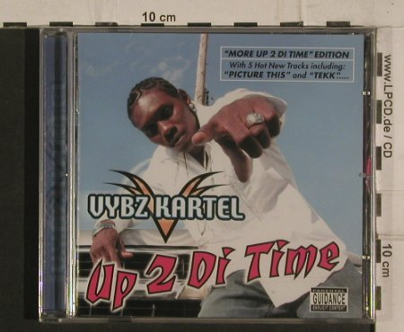 Vybz Kartel: More Up 2 di Time, Greensleeves Rec.(GRELcd279), EU, 2004 - CD - 99815 - 7,50 Euro