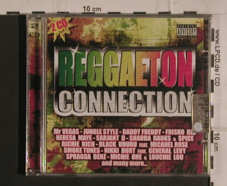 V.A.Reggaeton Connection: 32Tr,Michie One...Consuelo, FS-New, Fonte Rec.(FTE CDDP 25), I,  - 2CD - 99908 - 7,50 Euro