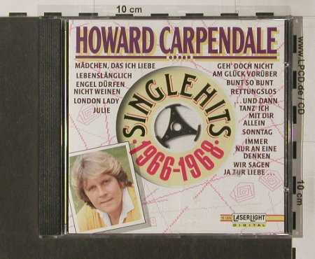 Carpendale,Howard: Same, LaserLight(16 006), D, 1991 - CD - 50531 - 5,00 Euro