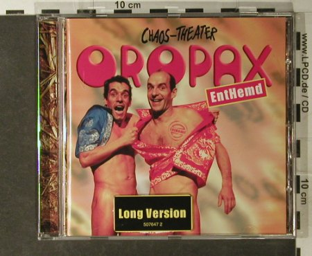 Oropax: EntHemd- Chaos-Theater, 37 Tr., Pirate(), EU, 02 - CD - 51115 - 5,00 Euro