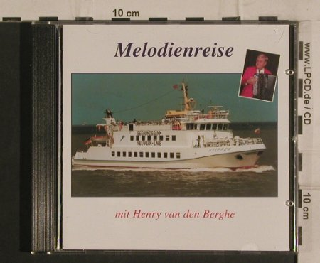 van den Berghe,Henry: Melodienreise, Cux Record(CD 2014), D,  - CD - 51143 - 5,00 Euro