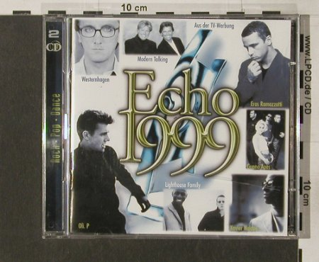 V.A.ECHO 1999: Rock-Pop-Dance, WB(), D, 99 - 2CD - 52104 - 4,00 Euro