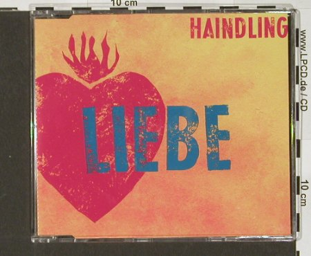 Haindling: Liebe+2, Polyd.(), D, 91 - CD5inch - 52246 - 2,50 Euro