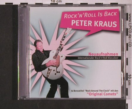 Kraus,Peter: Rock'n'Roll Is Back-Neuaufnahmen, Koch(9867799), D, 2004 - CD - 52758 - 7,50 Euro