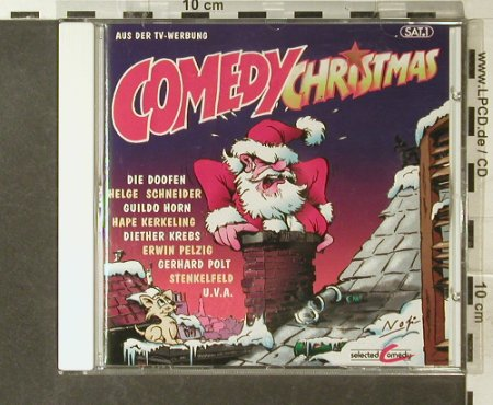 V.A.Comedy Christmas: 21 Tr., Selected Comedy(96009), D, 1996 - CD - 54044 - 4,00 Euro