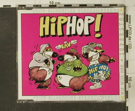 EAV: HipHop!*2+1, EMI(560-13 3491 2), NL, 1992 - CD5inch - 57339 - 2,50 Euro