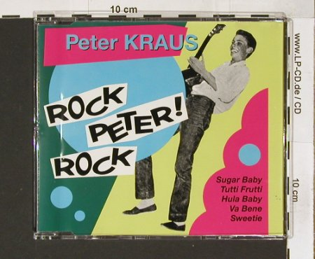 Kraus,Peter: Rock,Peter,Rock,8 Tr., Polyd.(), D, 92 - CD5inch - 58272 - 4,00 Euro
