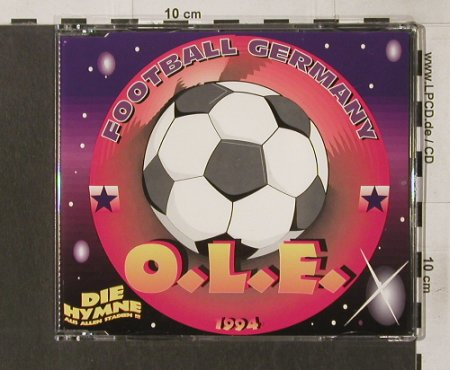 O.L.E: Football Germany+3-Die Hymne, Electrola(), NL, 94 - CD5inch - 62274 - 1,50 Euro