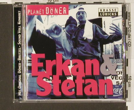 Erkan & Stefan: Planet Döner, Virgin(), EU, 00 - CD - 65398 - 4,00 Euro
